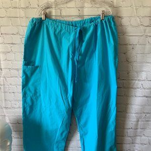 Cherokee Blue Scrubs Women's Pants Size XL